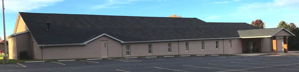 commercial roofing central ohio church with new shingled commercial roof