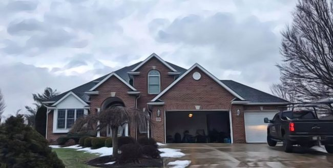 roofing company near mansfield ohio home with shingle roof