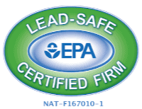 roofing companies epa lead paint removal certified logo