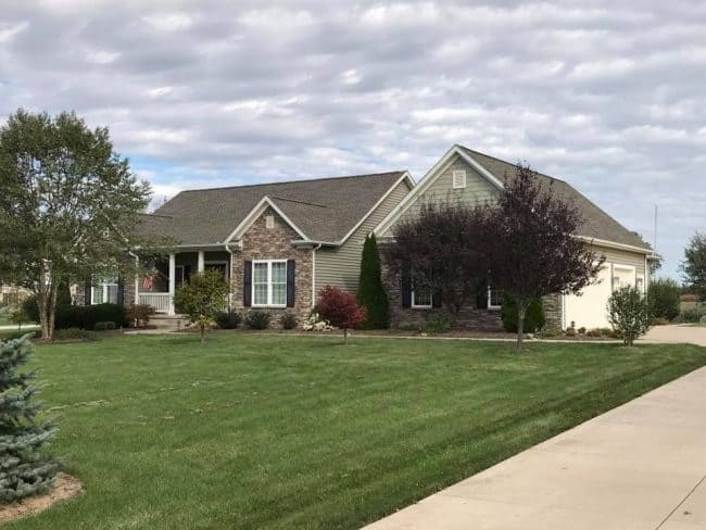 roofing company mansfield ohio house with asphalt roof