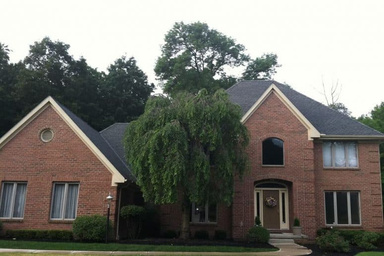 what to do if you need a roof repair in mansfield home with asphalt shingles