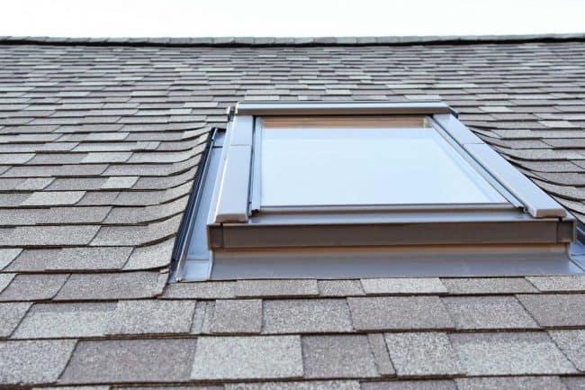 skylights installation roof with skylight window