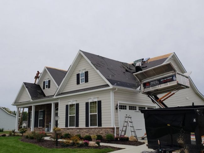 must know tips if you have storm damage home with roof replacement
