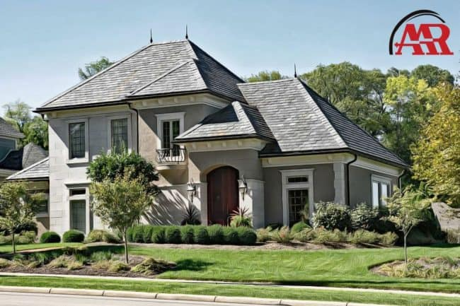 roofers near akron ohio home with slate roof