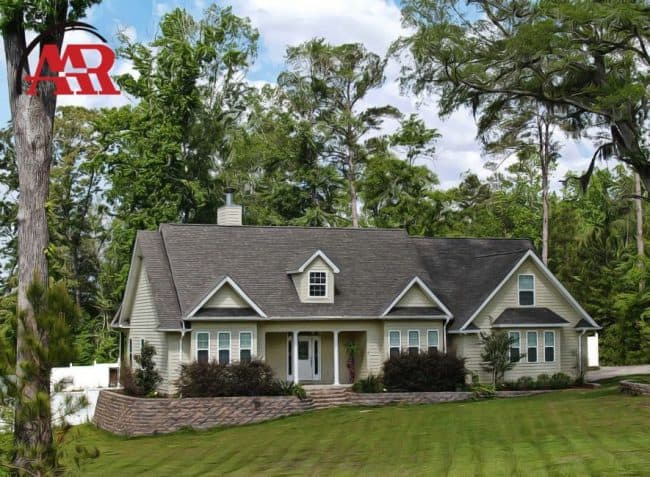 roofing company dublin ohio home with shingle roof and siding