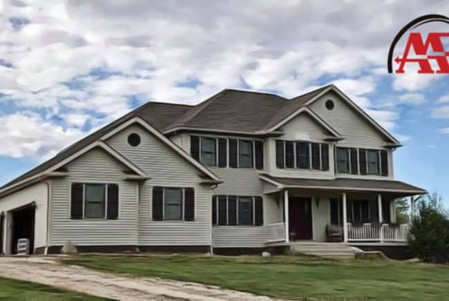 roofing company galion ohio home with shingle roof and white siding