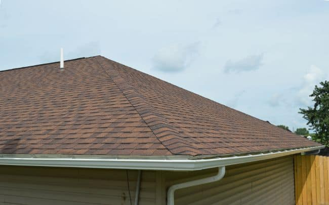 Mansfield roofing new roof installation sienna brown shingles